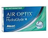 Air Optix plus HydraGlyde for Astigmatism, 6 Stück Monatslinsen, weich / BC 8.7 mm / DIA 14.5 mm / CYL -2.25 / Achse 20 / -2.0 Dioptrien