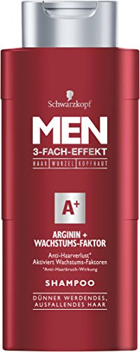 Men Arginin Wachstums-Faktor Shampoo, 4er Pack (4 x 250 ml)
