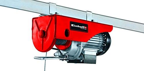 Einhell Seilhebezug TC-EH 250 (Tragkraft 250 kg, 230 V, 500 W, Hubhöhe 11,5 m, 12 m Drahtseil)
