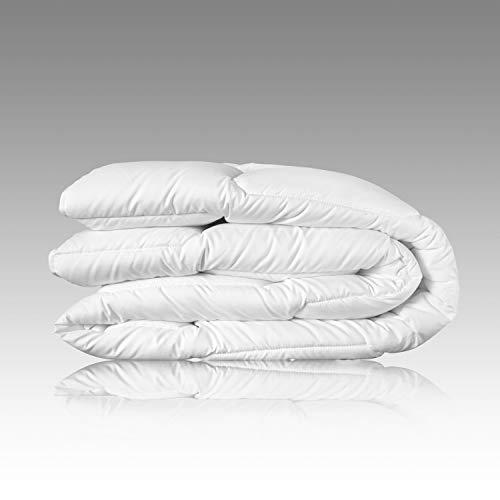 Wendre leichte Sommerdecke für die warme Jahreszeit   135x200 cm Bettdecke - Atmungsaktiv & Pflegeleicht   Weiche Steppdecke für den Sommer - Ideal für Allergiker   135 x 200 Sommerbettdecke