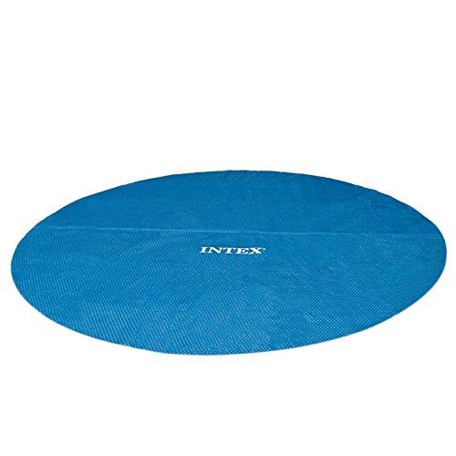 Intex Solarabdeckplane für Easy Frame Pool, isolierend, blau, Ø 366 cm