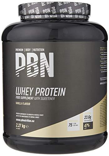PBN Whey Protein / Molkeeiweißpulver, 2,27kg Vanille