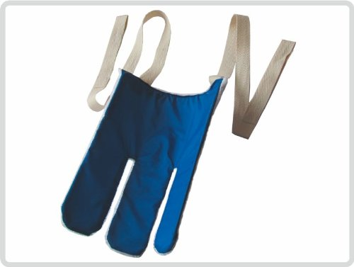 Sockenanziehhilfe Strumpfanziehhilfe aus 'Frottee' mit 2 langen Zugbändern - Strumpfanziehilfe Strumpfanzieher Sockenanzieher