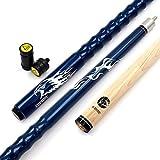 Cuesoul 58' Billardqueues 19oz Pool Queue Personalisiert Ahorn Pool Cue Stick 13mm Tips Very Nice Grip with Joint Protector/Shaft(CSPC-HL103)