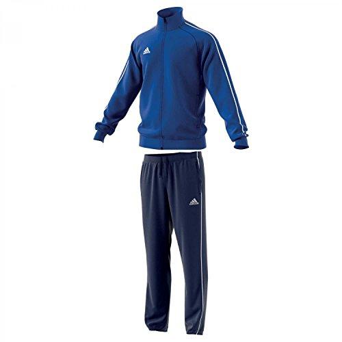 adidas Herren Polyesteranzug Core 18 Bold Blue/White M
