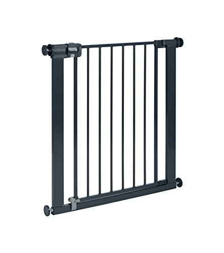 Safety 1st 2428057000 Easy Close Treppenschutzgitter, extra sicheres Metall-Türschutzgitter zum Klemmen, schwarz