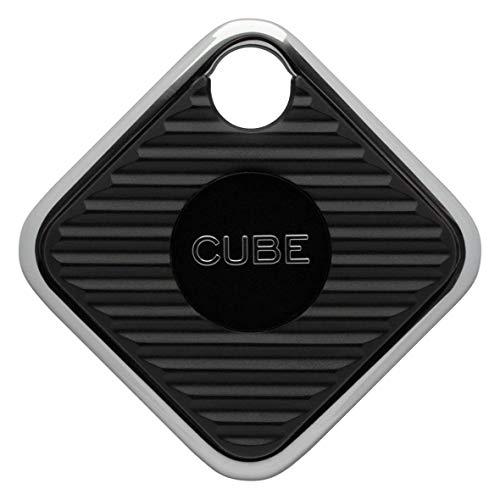 Cube Pro Key Finder Smart Tracker Bluetooth GPS-Tracker für Hunde, Kinder, Katzen, Gepäck, Brieftasche, mit App für Telefon, austauschbarer Akku, wasserdichtes Ortungsgerät