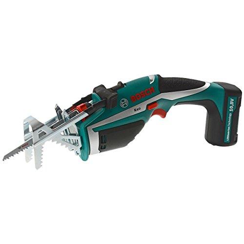 """Bosch DIY Akku-Gartensäge Keo, Haltebügel """"A-Grip"""", Messer für Frischholz, 3h-Lader (10,8 V, max. Ø 80 mm Schneidekapazität)"""