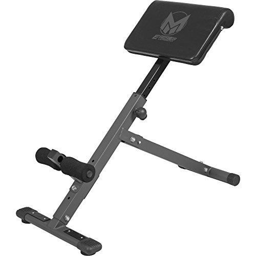 GYRONETICS E-Series Rückentrainer klappbar Hyperextension - Bauchtrainer mit gepolsterter Beinfixierung