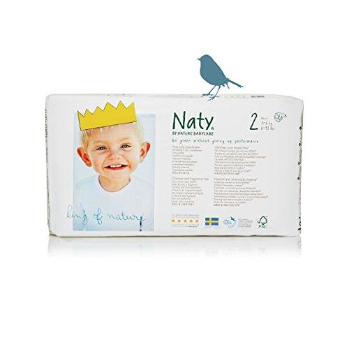 Windel Größe 2 (3 - 6 kg) 34 Stück Naty