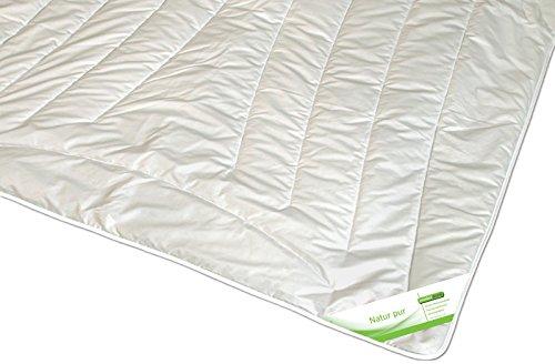 Bettdecke Kamelhaar Ganzjahres-Decke Steppbett Kamelhaardecke Karel, Größe:135x200 cm
