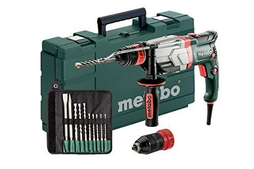 Multihammer / Bohrhammer UHEV 2860-2 QUICK SET   mit umfangreichen Zubehör, 4 Funktionen: Hammerbohren, Bohren in zwei Gängen und Meißeln, Hochleistungsschlagwerk   3,4 J / 1100 W