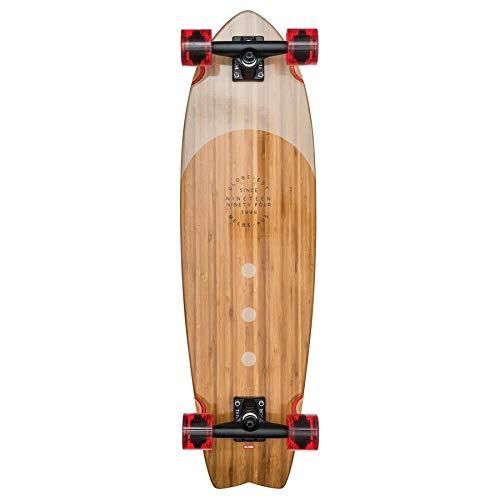Globe Herren Chromantic Skateboard/cruiserboard, Bamboo/Almond, 33