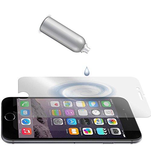 GIKEB flüssiger Displayschutz | für Smartphones & Smartwatches | einfache Handhabung | Nanotechnologie | hohe Qualität | US Militär Technologie | zu 100% unsichtbar | liquid protect Displayfolie