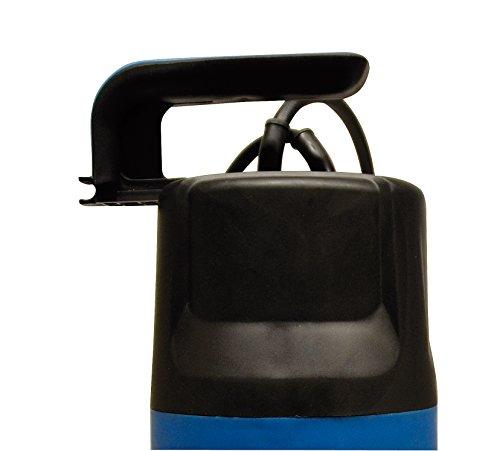 Güde Schmutzwassertauchpumpe GS4002P mit var.Schwimmerschalter, 94630,Schwarz, Blau