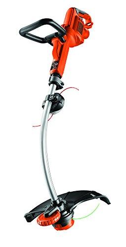 Black+Decker Elektro-Motorsense (900W, E-Drive Technologie, 35cm Schnittbreite, Kantenschnittfunktion, 8 Hochleistungsfäden) GL9035