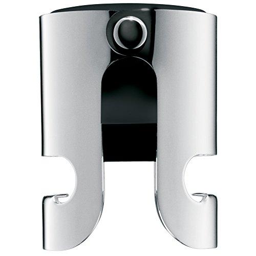 WMF Clever&More Sektverschluss, Flaschenverschluss, Edelstahl Cromargan mattiert, H 5cm, Ø 4cm