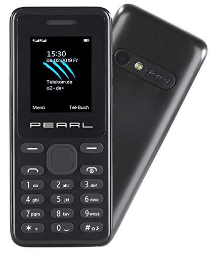 simvalley MOBILE Dual SIM Handys: Dual-SIM-Handy mit Kamera, Farb-Display, Bluetooth, FM, vertragsfrei (Handy ohne Vertrag)