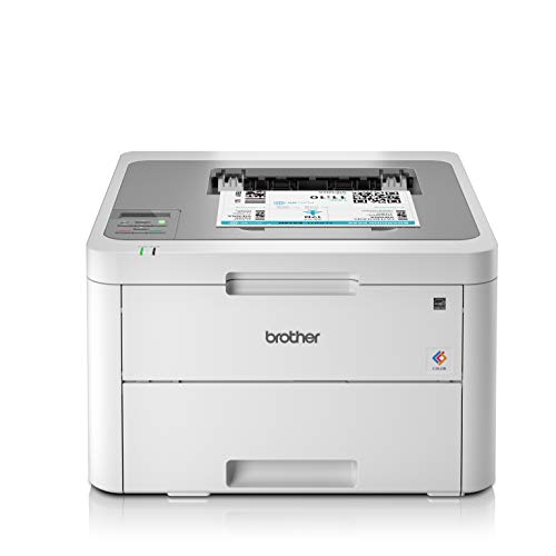 Brother HL-L3210CW Kompakter Farblaserdrucker, weiß