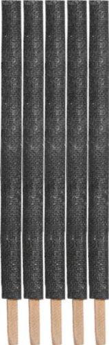 5 Wachsfackeln, ca. 45 cm mit Tropfschutz, Effektdauer ca. 60 min.
