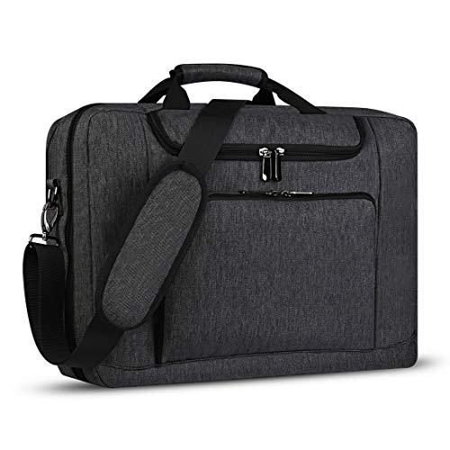 Bertasche Laptoptasche 17 Zoll / 17,3 Zoll Herren Business Tasche für Arbeit Aktentasche Groß