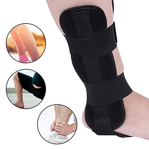 Nachtschiene zur Behandlung von Plantarfasziitis, Einstellbare Drop Fuß-Orthese Knöchel Gelenk Bandage, Schmerzlinderung Plantarfasziitis Stabilisierungsstäben Orthotics Corrector Tag und Nacht Fuß(L)
