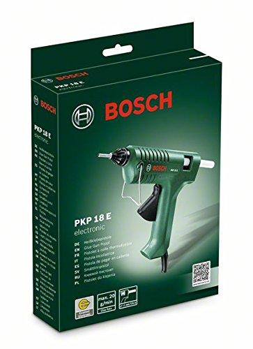 Bosch Klebepistole PKP 18 E (1x extralange Düse, Schmelzkleber, 240 Volt)