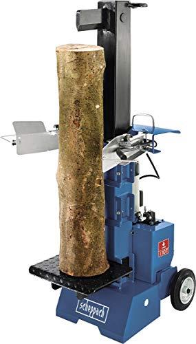 Scheppach Holzspalter HL1000V (230V, Spaltkraft 10 T, 3-fach einstellbarer Stecktisch, pulverbeschichtet)