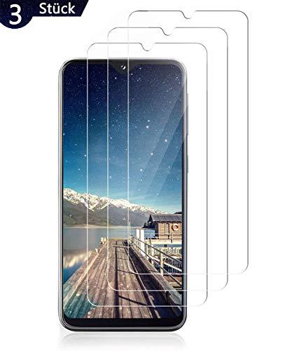 PHDE Panzerglasfolie für Samsung Galaxy A20E Schutzfolie 3 x Folie Vorne,9H Gehärtetes Glas,Anti-Kratzer/Anti-Öl/Anti-Staub,Panzerglas Displayschutzfolie für Samsung A20E - HD Klar