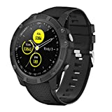 【Neuestes Modell】 Smartwatch,Antimi Fitness Uhr Bluetooth Smart Watch Fitness Tracker mit Pulsuhr Schrittzähler Blutdruckmessung und Sportuhr IP68 Wasserdicht Damen Herren Uhr für IOS/Android