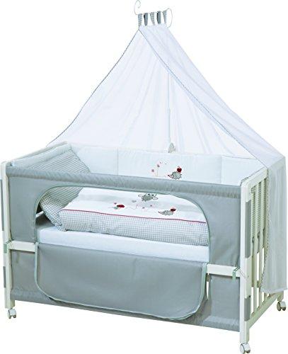 roba Roombed, Babybett 60 x 120 cm, Eltern Beistellbett, verschiedene Varianten erhältlich