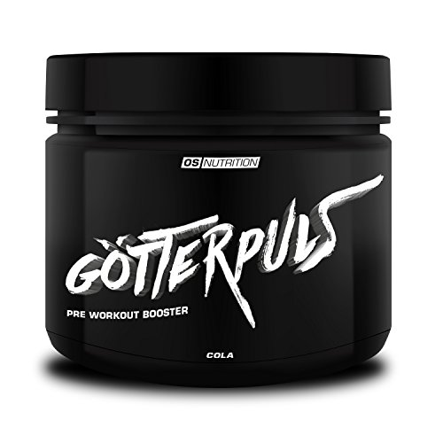 Pre Workout Booster Götterpuls – OS NUTRITION Cola 308g – made in Germany