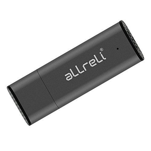 aLLreLi Digital Diktiergerät CP00341 [2-in-1] 8GB USB Speicherstick
