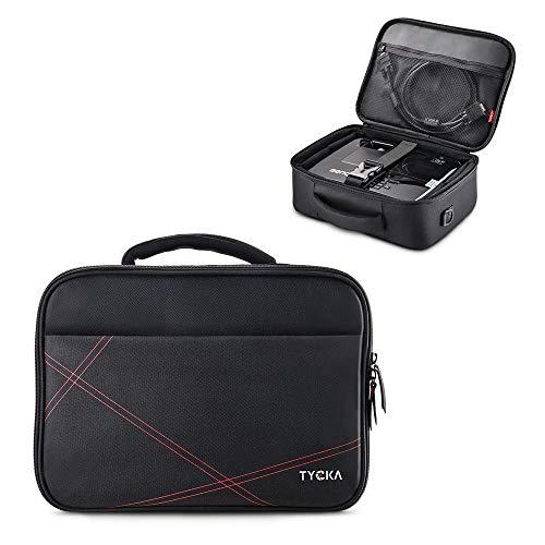 TYCKA Beamertasche, Projektor-Reisetasche Small- 36x26x12 cm- mit verstellbarem Schultergurt & Trennwänden für Acer, Epson, Benq, LG, Sony