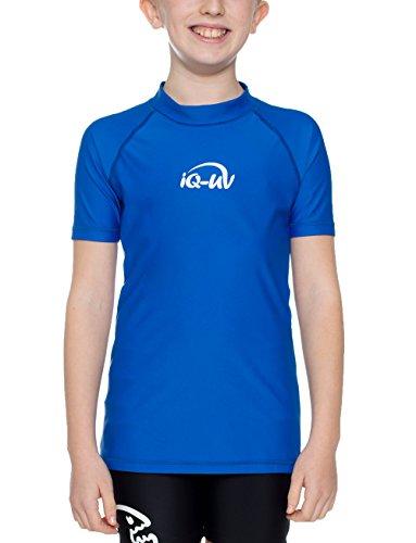 iQ-UV Mädchen UV-Shirt 300 UV-Schutz T-Shirt, Blau (Dark-Blue), 164/170 (Herstellergröße: 164/170)