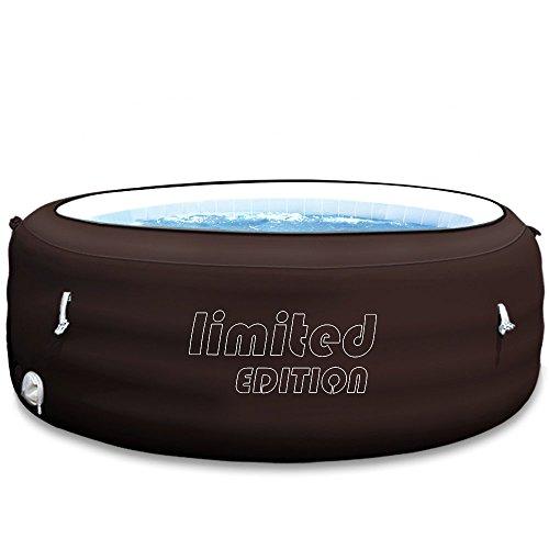 Bestway Lay-Z-Spa Limited Ø196x61cm mit Massagesystem und Filterpumpe Whirlpool beheizter Pool Outdoor