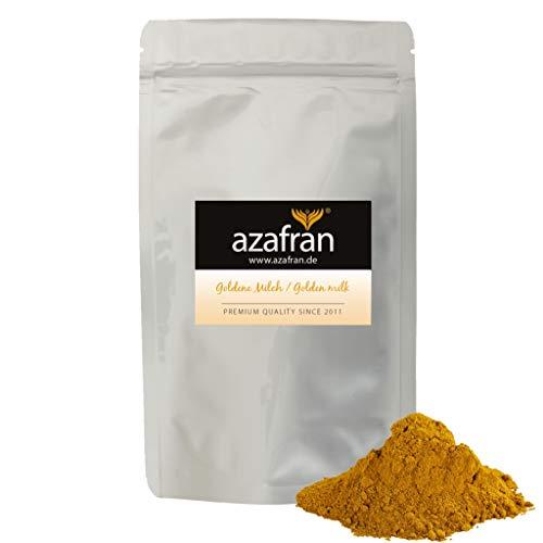 Azafran BIO Goldene Milch   Golden Milk   Kurkuma Latte Gewürzmischung 250g