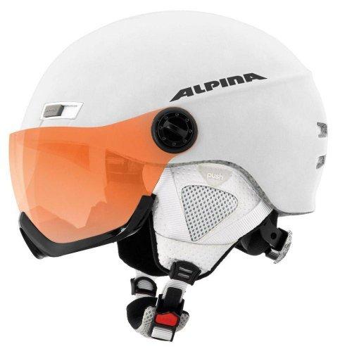 Alpina Skihelm Menga JV, White Matt, 58-61 cm, 9061313