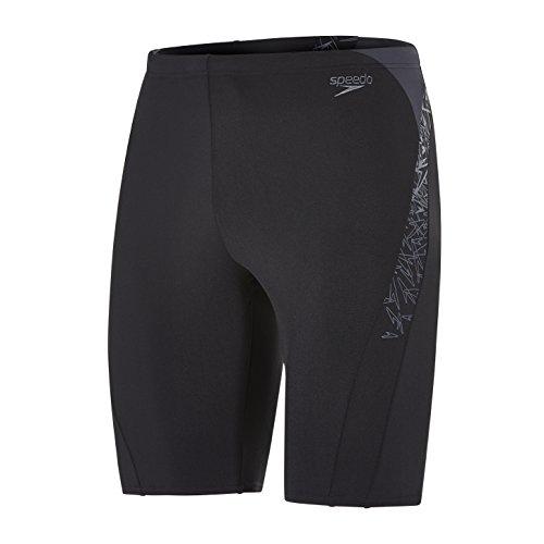 Speedo Herren Boom Splice Jammer Swimwear Black/Oxid Grey 5