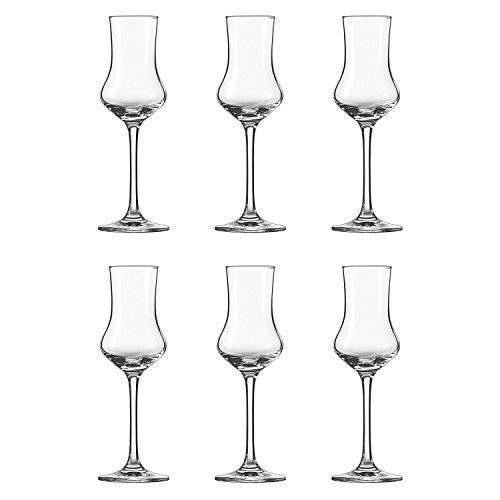 Schott Zwiesel 106225 'Classico' Grappakelch, Grappa-Glas 95ml, klar (6 Stück)