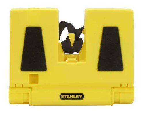 Stanley Pfosten-Wasserwaage (mit intergrierten Magneten, 3 Röhrenlibellen, zusammenfaltbar, 10 x 14 cm) 0-47-720