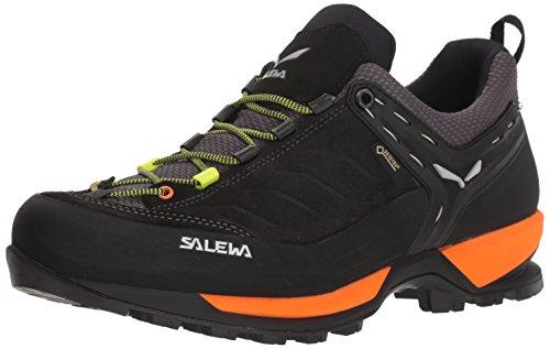Salewa Herren MS MTN Trainer GTX Trekking-& Wanderhalbschuhe, Schwarz (Black Out/Holland 8668), 46 EU