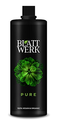 BLATTWERK Pure Bio Düngemittel - 1.000ml: 100% veganer, organischer NPK Dünger mit Aminosäuren. Flüssiger Naturdünger aus Gras