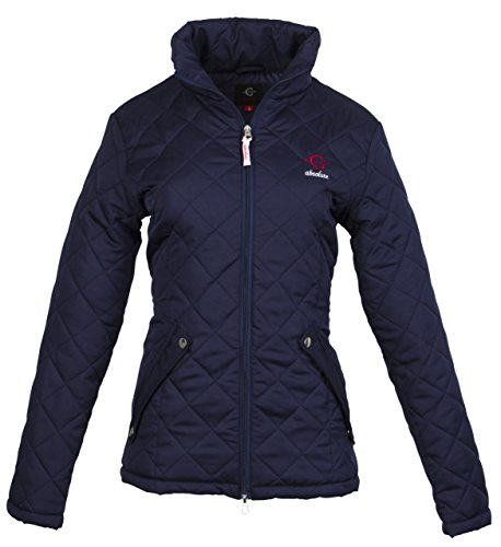 Kerbl Damen Steppjacke-C-Absolute Größe Jacke, Marineblau, XXL
