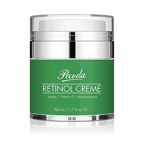 Retinol Feuchtigkeitscreme Creme-2.5% Retinol anti falten/anti aging creme für gesicht und augen. Natürliche Hautpflege-Behandlung crème für Frauen und Männer. 50ml