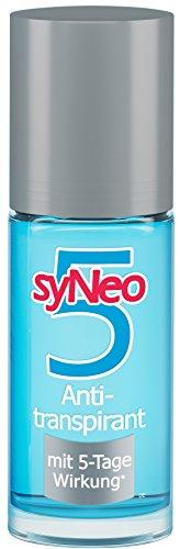 syNeo 5 Anti-Transpirant Unisex Roll-On, Anti-Perspirant Deo-Roller für Damen und Herren, 1er Pack (1 x 50 ml)