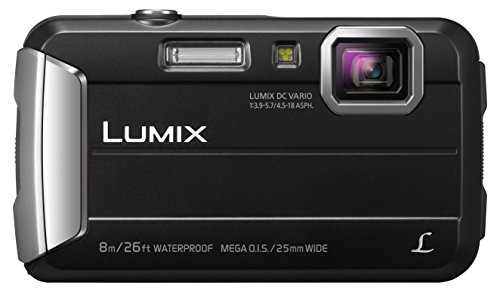 Panasonic LUMIX DMC-FT30EG-K Outdoor Kamera (16,1 Megapixel, 4x opt. Zoom, 2,6 Zoll LCD-Display, wasserdicht bis 8 m, 220 MB interne Speicher, USB) schwarz
