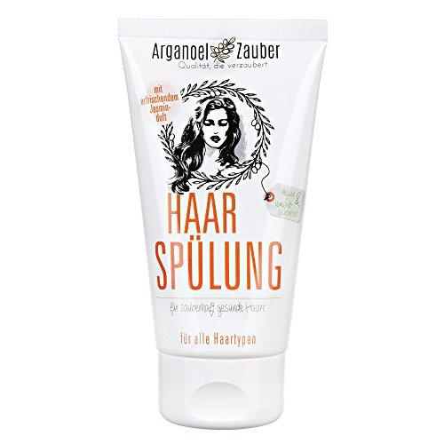 Haarspülung / Conditioner von Arganoel-Zauber 150 ml | effektiver Schutz gegen trockenes & strapaziertes Haar | mit Arganöl & Tocopherol | ohne Silikone & Parabene
