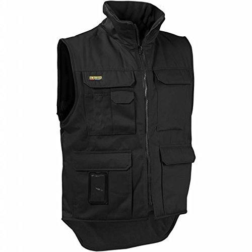 Blåkläder Workwear Arbeits-Winterweste '3801' Fleece-Futter, 1 Stück, XL, schwarz, 67-38011900-9900-XL