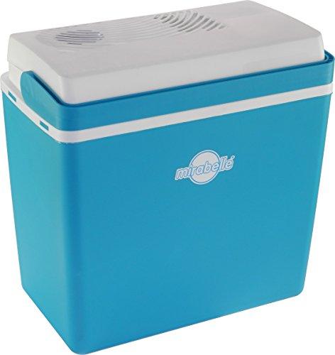 EZetil 10770610 Mirabelle E24 Thermoelektrische Kühlbox, 12V, Aquamarinblau, 21 L